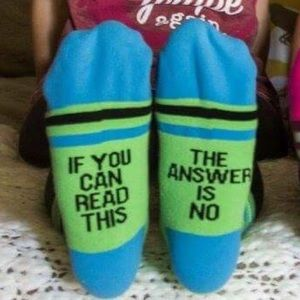 Accessories - 🎉HP🎉The answer is no Socks!!!