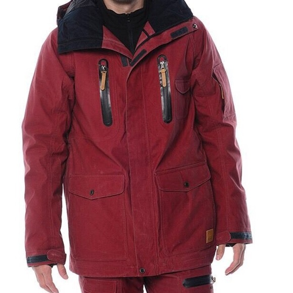 64 off quiksilver other quiksilver mens snow jacket