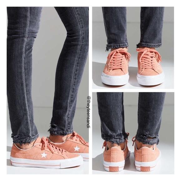 7af045b93936d8 Converse One Star Premium Suede Sneakers