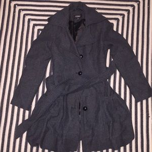 CoffeeShop Jackets & Blazers - Cute trench coat with balloon/puff