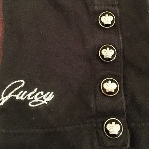Juicy Couture Bottoms - Juicy couture leggings w/juicy buttons &signature