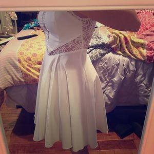 LF White lace dress