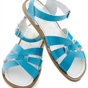 Salt Water Sandals by Hoy Shoes - Blue salt waters
