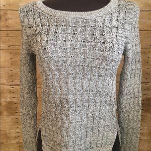 Loft Speckled Knit Sweater Sz SP