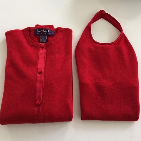 Ralph Lauren Collection Sweaters | Ralph Lauren Cashmere Twin Set ...