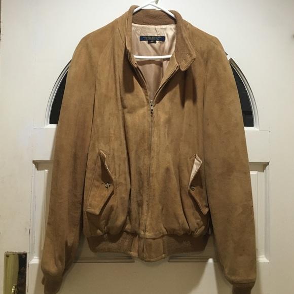 e58f36e32 Brooks Brothers Jackets & Coats   Suede Jacket   Poshmark