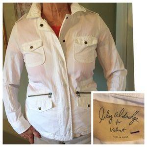 Velvet Jackets & Coats - 🎄NWOT Lily Aldridge for Velvet White Jacket. Sz S