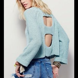 LAST DAY SALE FREE PEOPLE ENDLESS STORIES SWEATER