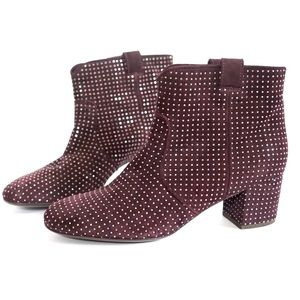 laurence dacade Shoes - Laurence Dacade Wine Stud Boots