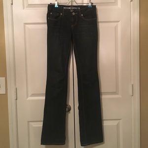 Dark wash jeans - long