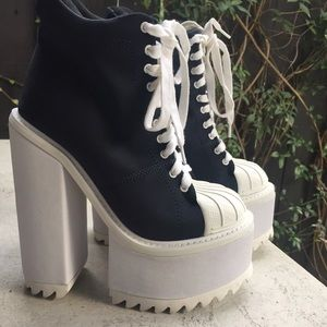 eb491487abff Jeffrey Campbell Shoes - Jeffrey Campbell - Heeled Sneaker Boots