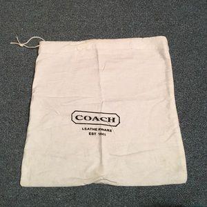 Coach Handbags - Sale ⚡Coach dust bag 14 x 13. Perfect for a gift!