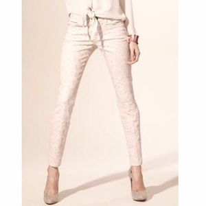 Current/Elliott Denim - Current/Elliott Stiletto Jeans in leopard print