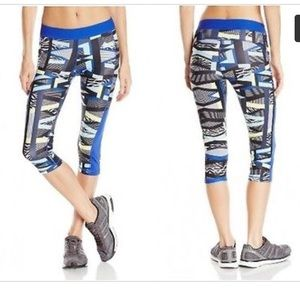 Adidas Performance TechFit Print Capri Leggings