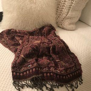 Gerard Darel Accessories - Gerard Darrel new beaded shawl