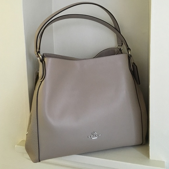 Edie shoulder bag - Grey Coach d86coyNHpe