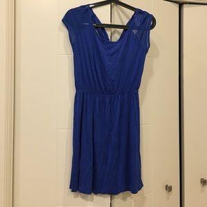 Blue dress size Medium