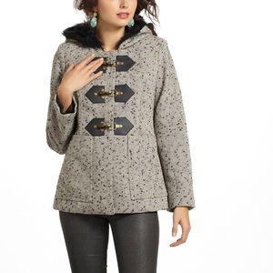 Anthropologie Callum Tweed Coat