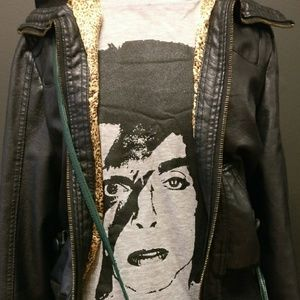 "CLE Threads Other - Unisex ""Pop Fusion"" 1/2 Prince 1/2 David Bowie Tee"