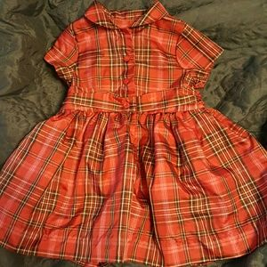 Baby Gap Christmas dress used B15