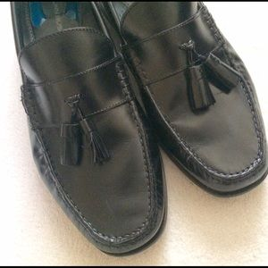 Nunn Bush Other - Nunn Bush Black Leather Tassel Loafer Shoes 11.5M