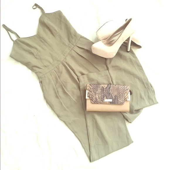 Jennifer Lopez Pants - Jennifer Lopez Olive Green Pants Jumpsuit Size 0