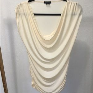 Silk Like Cowl Neck Blouse, NWOT
