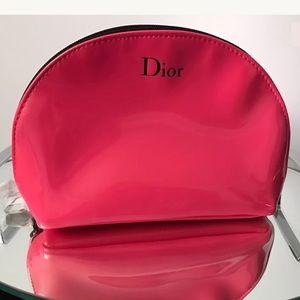 Dior Other - NEW PINK DIOR MAKEUP BAG