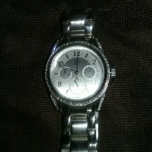Newyork and company  Accessories - Nwot Newyork and company silver watch