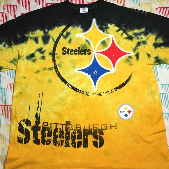 Pittsburgh Steelers NFL Football Tie Dyed Shirt 99e706a6e