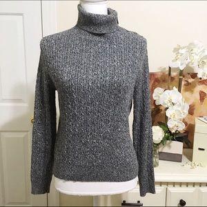Valerie Stevens Sweaters - Valerie Stevens Turtleneck Sweater - Petite Medium