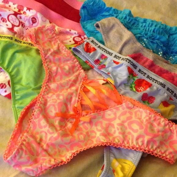 Hot bottoms panties