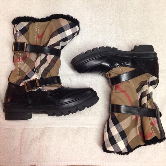 Hpfinal Sale House Check Snow Boots