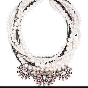 Bauble Bar Pearl Bennett Bib Necklace