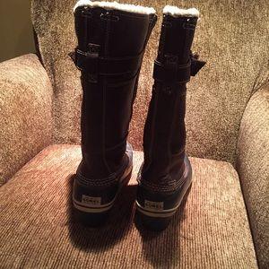 fdc4c00ce Sorel Shoes | Womens Winter Fancy Tall Ii Grizzly Bear | Poshmark