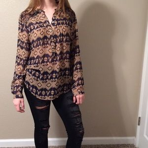 Roar Tops - Women's medium blouse kind of tribal
