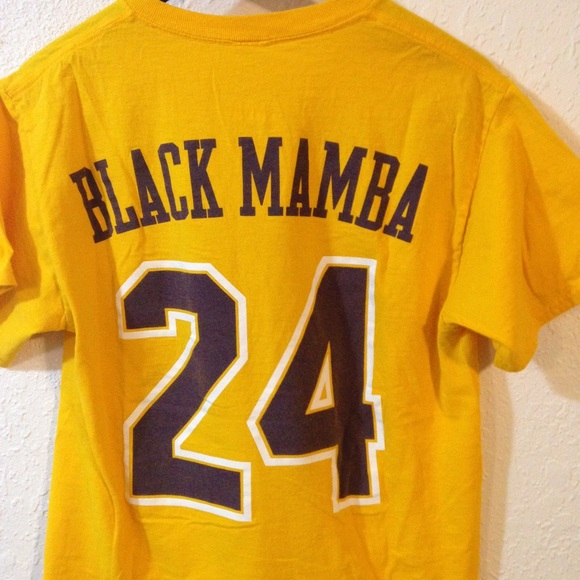 online store fb573 b690b Sale🤑Kobe Bryant t-shirt Lakers tee Black Mamba