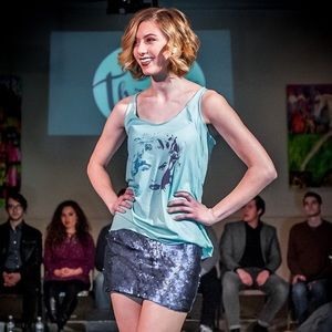 CLE Threads Tops - Pop Fusion Hollaback Gwen Madonna Racerback Tank