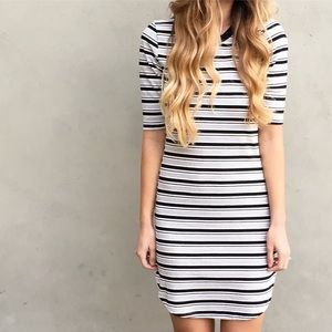 | new | striped t shirt dress