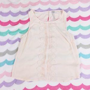 LC Lauren Conrad Tops - Pink tank top blouse