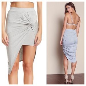 ASTR Dresses & Skirts - NWT | ASTR Asymmetrical Tie Knot Skirt
