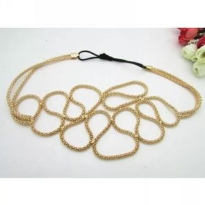Accessories - Gold abstract headband