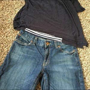 GAP Denim - GAP curvy flare jeans