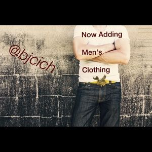Men's clothing!!