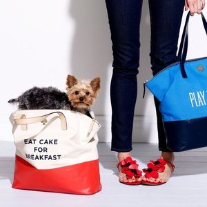 {Kate spade} eat cake for breakfast tote