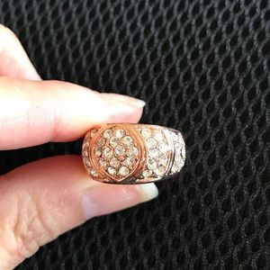 Jewelry - 18K Rose Gold Plated Engagement Ring
