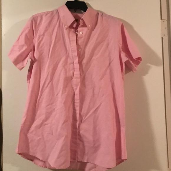 50% off Tops - Cracker Barrel pink uniform shirt from Emily's ...