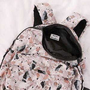 Acne Handbags - FINAL FLASH- Acne Studios Print Backpack