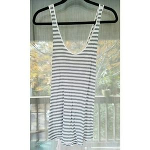 Lou & Grey Tops - Striped cross back tank