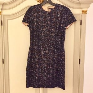 STUNNING FRENCH CONNECTION EMBELLISHED DRESS